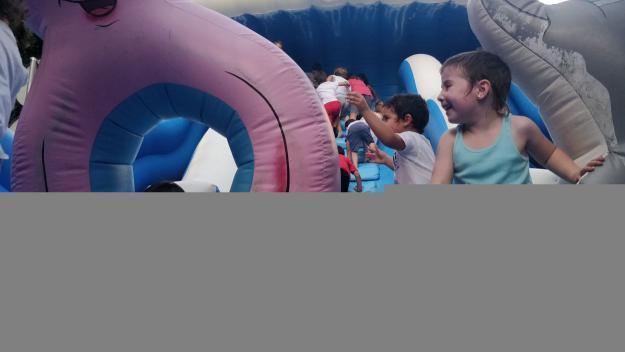 Els menuts han gaudit de diverses activitats infantils durant la festa / Foto: Cugat Mèdia