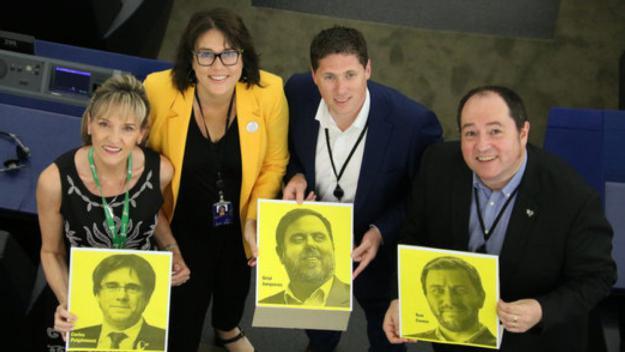 Diana Riba pren possessió com a eurodiputada al Parlament Europeu