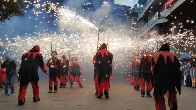 La Festa Major ofereix imatges per recordar / Foto: Cugat Mèdia