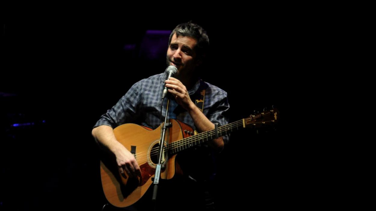 Joan Dausà durant un concert del Teatre-Auditori / Foto: Localpres