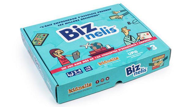 Presentació de Biznelis, joc educatiu d'emprenedoria i de gestió empresarial