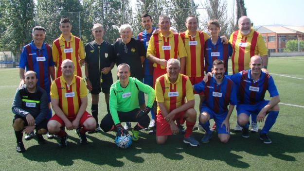 Aguns dels participants de la festa de cloenda de les Penyes del Vallès / Font. PB Sant Cugat
