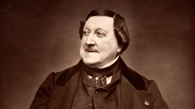 Gioachino Rossini, compositor de l'òpera La Cenerentola, el conte de 'La Ventafocs' / Foto: Éttiene Carjat