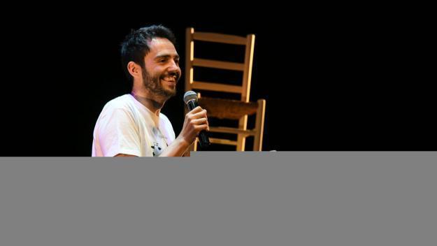 David Guapo en una actuació anterior al Teatre-Auditori / Foto: Localpres