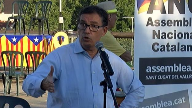 Alonso-Cuevillas expressa a Sant Cugat el seu malestar amb el pacte de JxCat a la Diputació