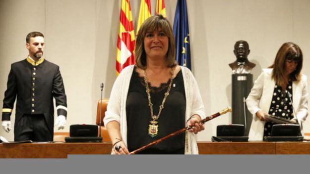 El pacte entre JxCat i el PSC proclama Núria Marín presidenta de la Diputació de Barcelona