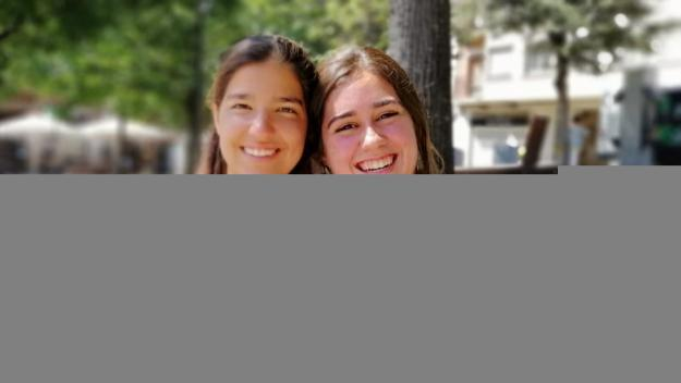 Sis universitàries santcugatenques fan un voluntariat d'estiu al Líban