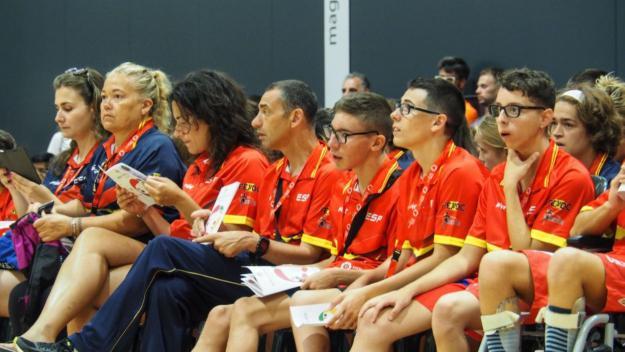 L'equip espanyol a la inauguració dels Wolrd Games / Foto: CP World Games