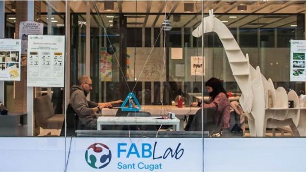 El FabLab es troba a Esade Creàpolis / Foto: FabLab Sant Cugat