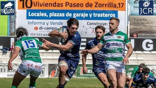 Jorge ORtiz durant un partit amb el VRAC / Foto: JCR