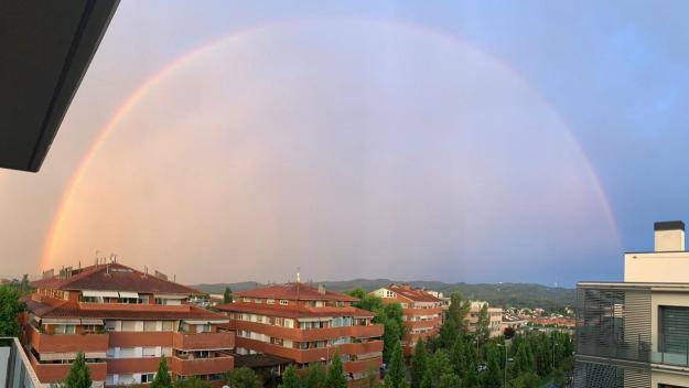 L'arc de Sant Martí després de la tempesta / Foto: Cedida