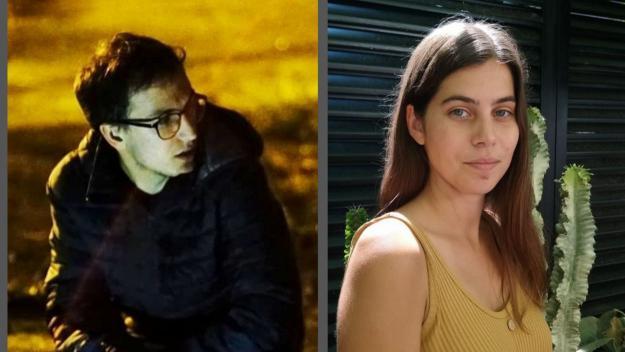 Els cineastes joves santcugatencs Jaume Claret i Marga Almirall / Foto: Cedides per Jaume Claret i Marga Almirall