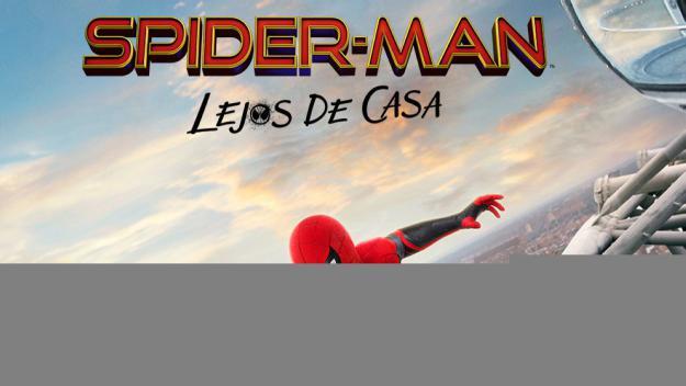 Cartell promocional de 'Spider-Man lluny de casa'