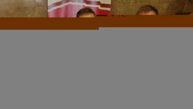 Els consellers santcugatencs amb el president del Consell Comarcal / Foto: Cedida