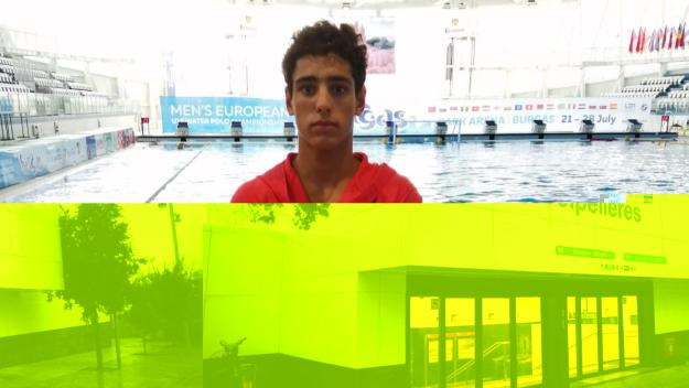 David de Requesens, classificat per al Mundial de waterpolo sub 15 / Font: cedida