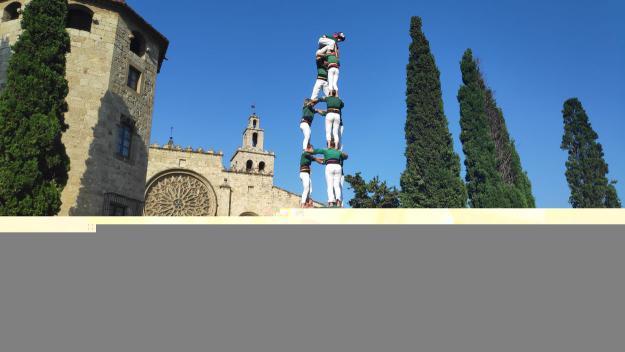 El 3 de 8 dels Gausacs a la Diada en Honor a Sant Cugat / Foto: Cugat Mèdia