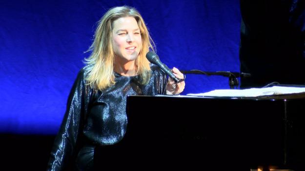 Diana Krall durant el concert al Teatre-Auditori / Foto: Cugat Mèdia