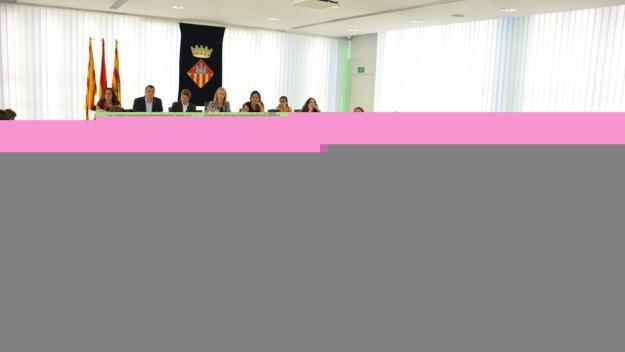 Un moment del primer ple municipal ordinari del mandat / Foto: Localpres