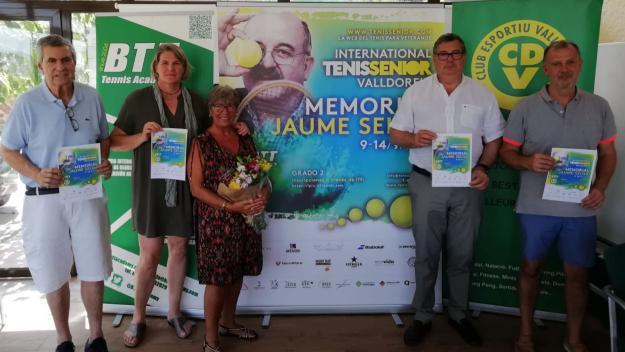 Presentació de la 9a edició de l'Internacional Tennis Valldoreix / Font: Cugat Mèdia