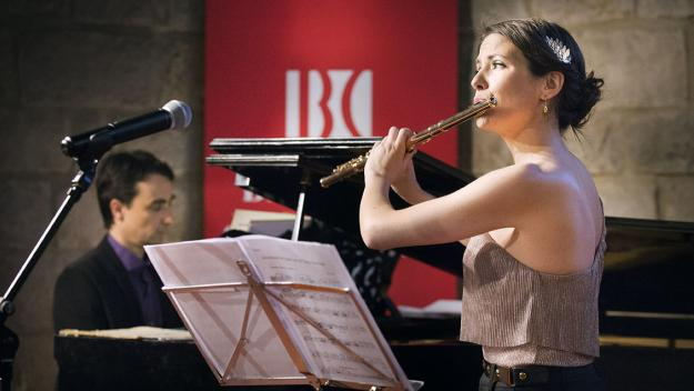 La flautista santcugatenca Elisabet Franch s'endú la 27a World Music Competition
