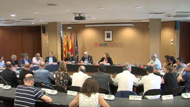 PSC-CP, En Comú Guanyem, ERC-AM i Junts per Catalunya tanquen l'acord per governar l'AMB