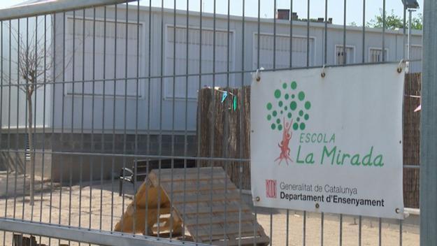 Els mòduls de l'escola La Mirada / Foto: Cugat Mèdia