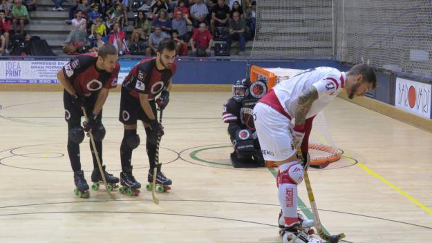 Imatge d'un partit de la darrera temporada  / Foto: Cugat Mèdia