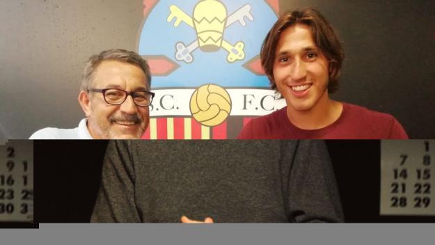Jordi Ranera és un dels darrers fittxatges del SantCu / Font: Sant Cugat FC
