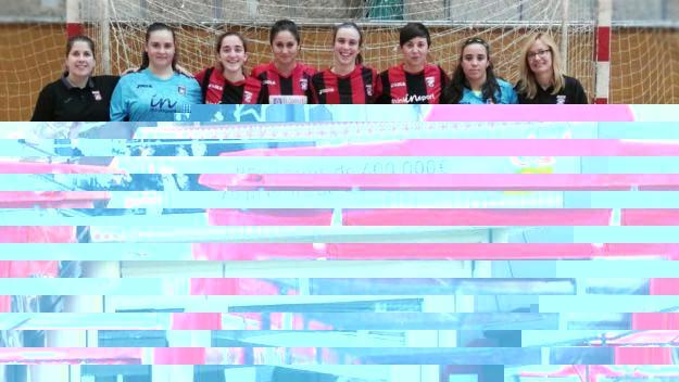 Plantilla del Futbol Sala Sant Cugat que ha finalitzat en sisena posició / Font: Chiki Baena