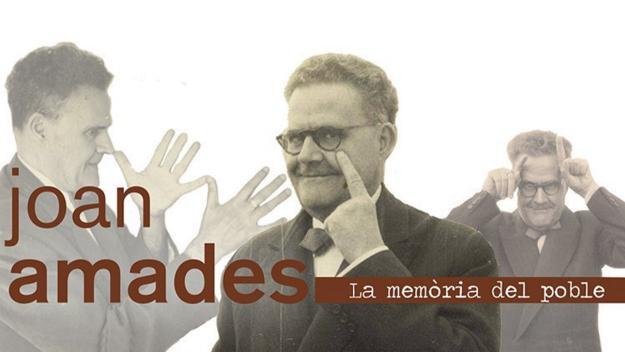 Exposició: 'Joan Amades, la memòria del poble'