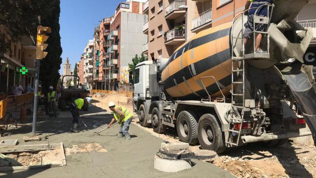 L'avinguda Cerdanyola, l'Hipòdrom i la pista de la Jaume Tubau, entre les obres destacades d'agost