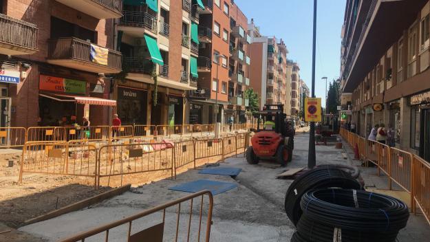 Afectacions al trànsit a l'avinguda de Cerdanyola a partir de dimecres per la vianantització