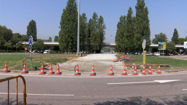 El carril bici de l'Hipòdrom haurà d'esperar / Foto: Cugat Mèdia