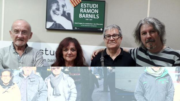 L'equip del programa amb José Luis Caballero, a la dreta / Foto: Cugat Mèdia