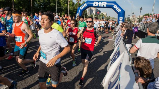 Imatge d'una edició anterior de la cursa / Foto: Comunicació DIR