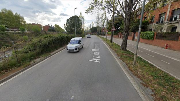 L'avinguda de Montserrat Roig és una de les afectades per les obres / Foto: Google Maps