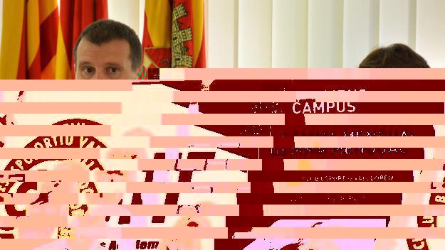 Francesc Duch, alcalde accidental des d'aquest dilluns