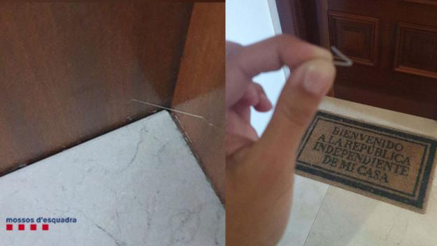 Els Mossos alerten de l'ús que fan els lladres de marcadors per detectar pisos buits