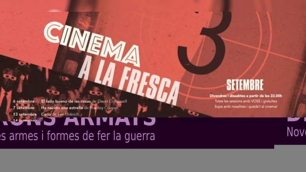 Arrenca el cicle de cinema a la fresca de setembre del Mercantic