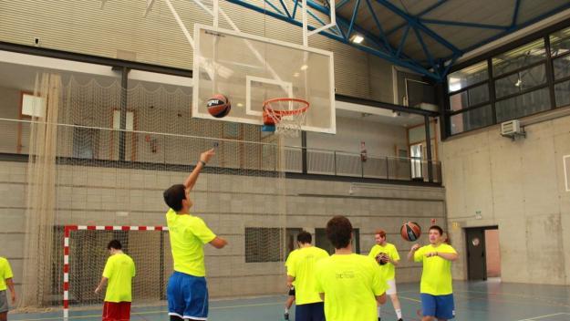 Imatge del Campus de bàsquet del Valldoreix FC / Font: Valldoreix FC
