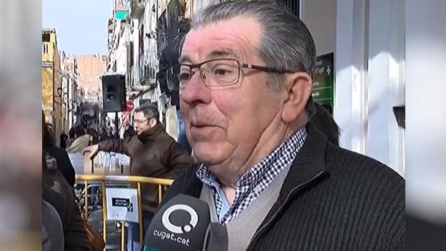 Mor Josep Masó, president de la comissió de Sant Antoni Abat