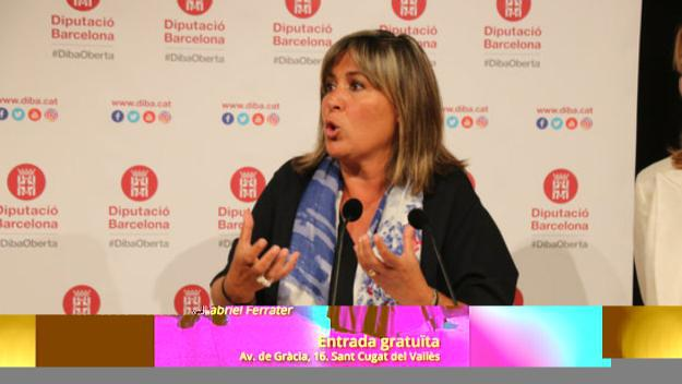 La presidenta de la Diputació de Barcelona, Núria Marín / Foto: ACN