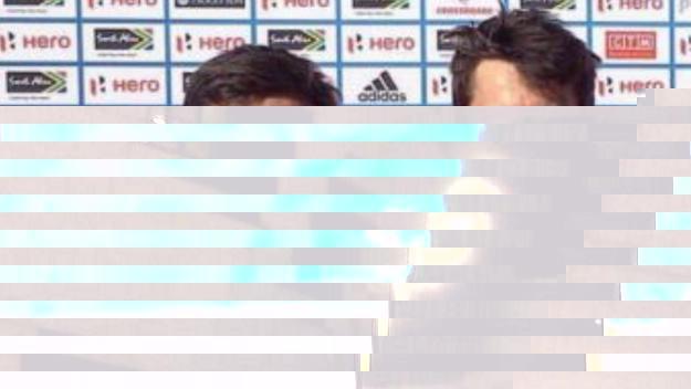 Els jugadors del Junior Marc Serrahima i Marc Perellón / Foto: RFEH