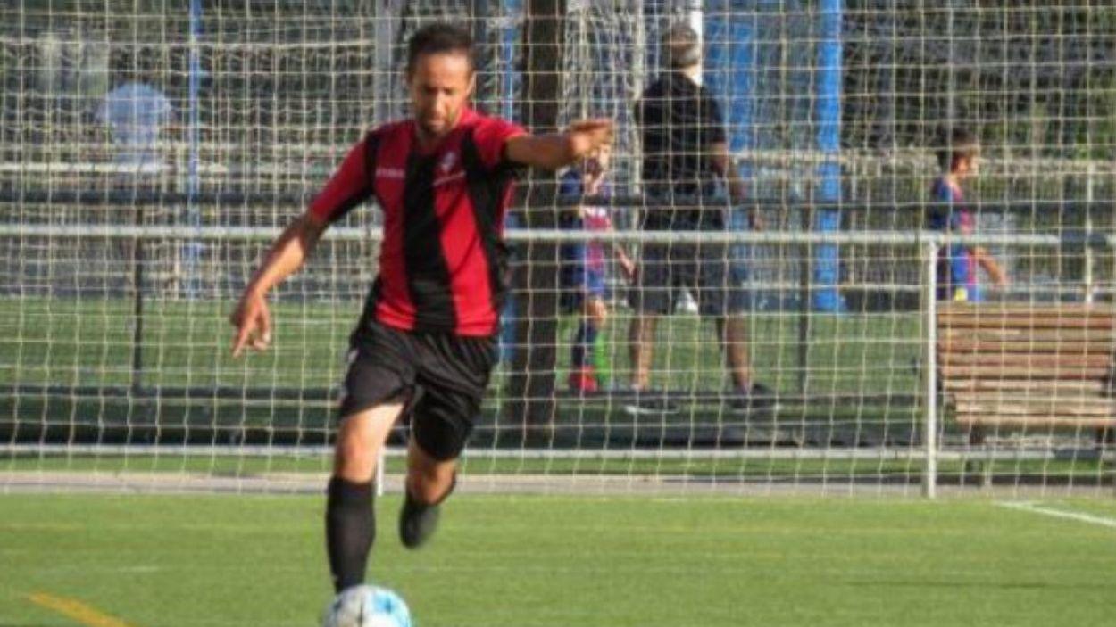Naoufal ha tornat a marcar i suma nou gols a la primera volta / Font: Cugat Mèdia