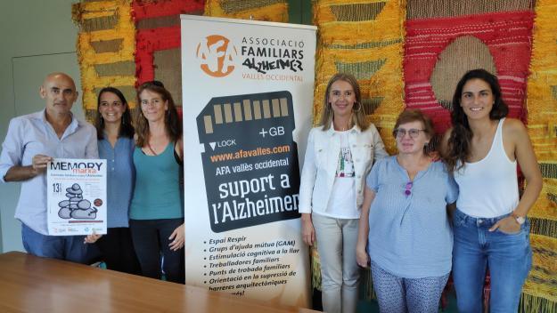 La marxa és una col·laboració entre l'AFA i Teampartners / Foto: Cugat Mèdia