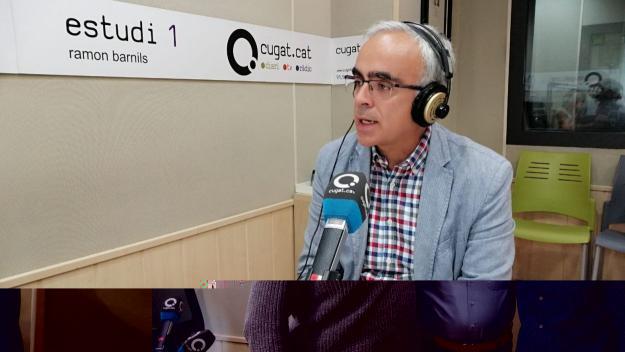 El director del CAR, Ramon Terrassa, durant l'entrevista / Foto: Cugat Mèdia
