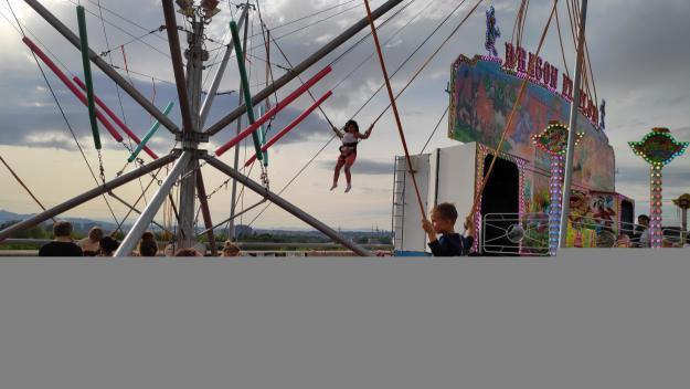 Les atraccions infantils, protagonistes de la festa grossa / Foto: Cugat Mèdia