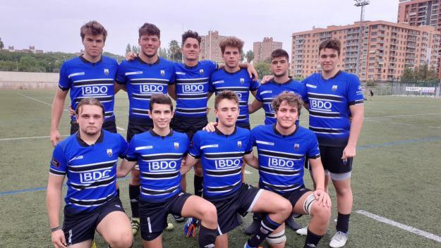 10 jugadors del planter que han debutat amb el primer equip / Font: Rugby Sant Cygat