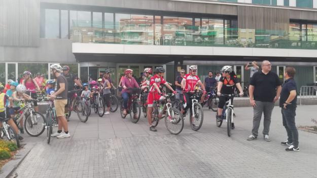 Una Bicicletada Popular inicia la Setmana de la Mobilitat Sostenible