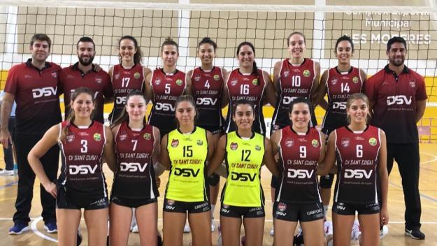 Plantilla del DSV- Voleibol Sant Cugat per a la nova temporada / Font: Volei Sant Cugat